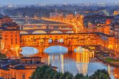 Ponte Vecchio Is A Bridge In Florence, Located At The Narrowest Point Of The Arno River, Almost Oppo poster