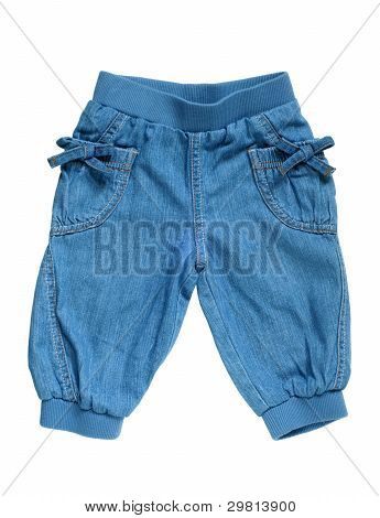 Little Girls Jean Breeches