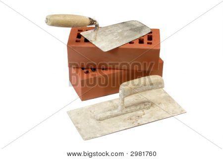 Old Brick Trowels