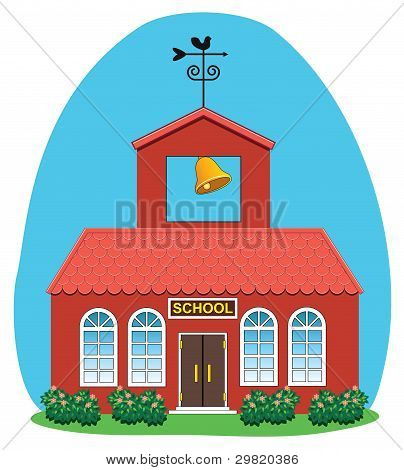 Vector Country School House