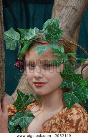 Portrait Of A Dryad