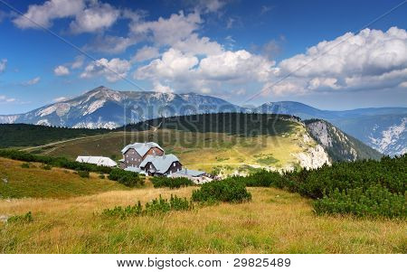 Otto mountain hut in Rax Alps