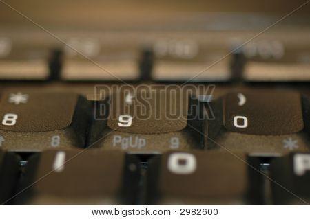 Teclado de ordenador gráfico