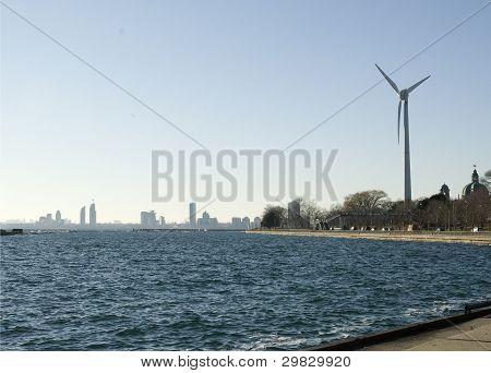 turbine at dufferin gate in toronto
