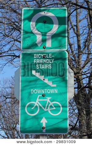 Bicycle Friendly Signpost