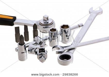 Set Of Keys Of Different Types