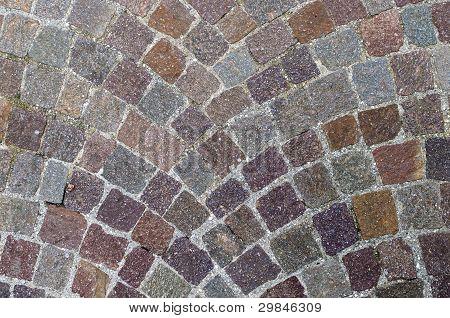 Symmetrical Cobblestone Texture