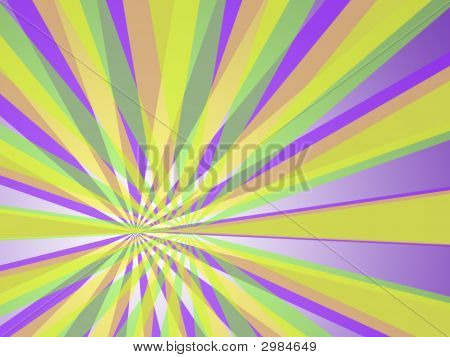 Psychedelic Abstract Texture Background