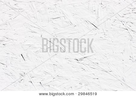 White Painted Chipboard Surface