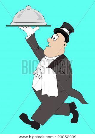 Waiter Man Staff