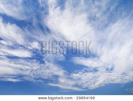 Wispy Clouds, Horizontal