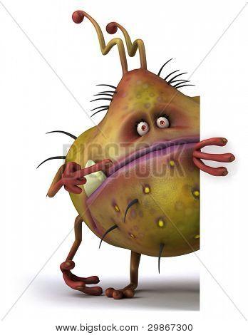 Germ monster