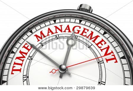 Time Management Concept Clock