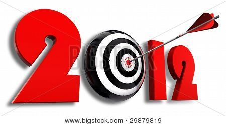 2012 New Year And Conceptual Target