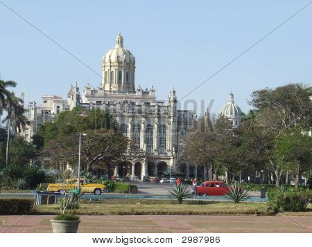 The Presidential Palace In Havana
