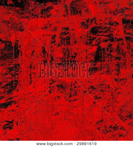 blood abstract