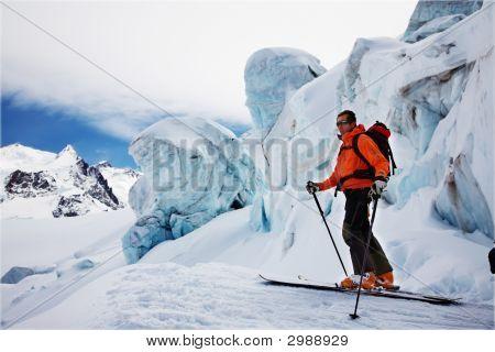 Freerider Skier