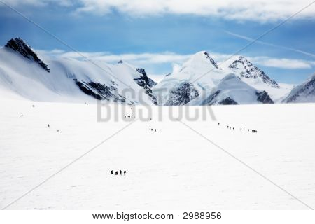 Glacier - Climbers