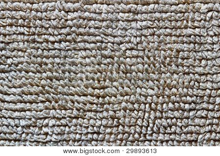Detailed brown towel texture