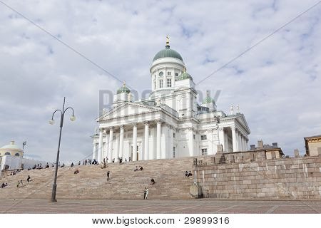 helsinki: lutheran cathedral