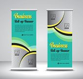 Roll Up Banner Template Design-33 poster