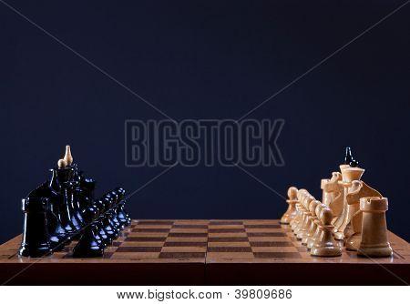 beginning of chess game