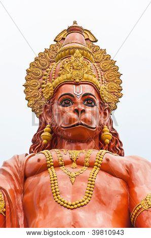 Hanuman Statue At Sikkim, India