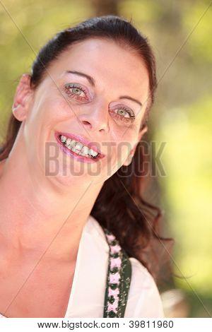 Retrato de una lechera