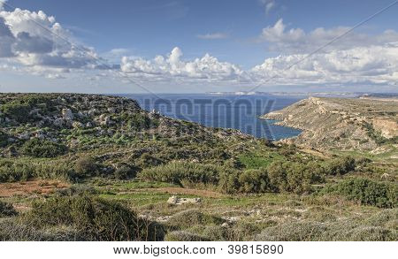 Malta Countryside View