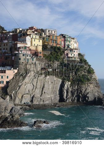 manarola coastal village