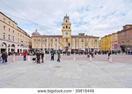 Piazza Garibaldi Parma In Parma, Italy
