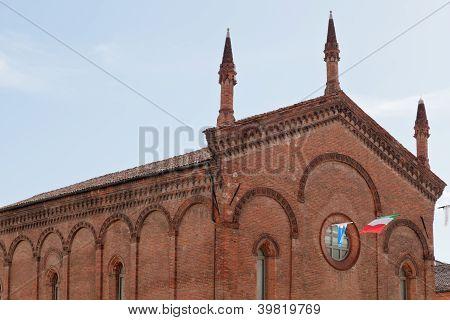 St. Stephen's Church In Ferrara