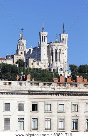 Famous Fourviere Basilica