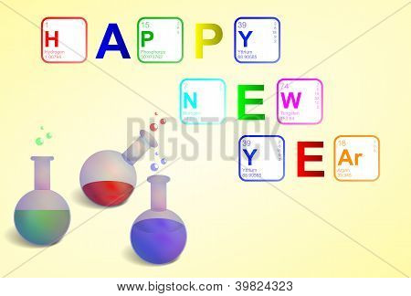 Happy New Year 2013 in Sciene style