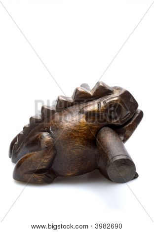 Iconic Asian, Croaking Frog Toy