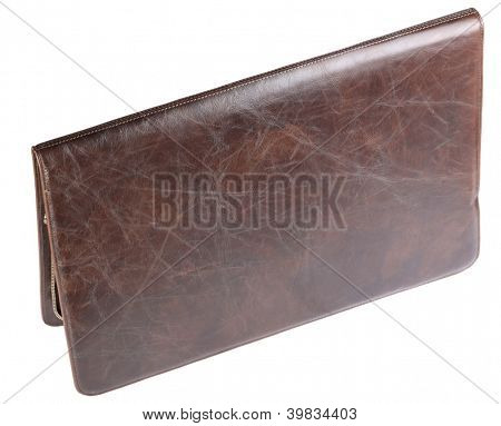 Leather Crocodilian Notebook Cover Isolated