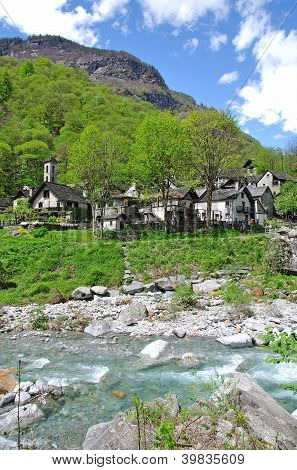 Foroglio,Bavona Valley,Ticino Canton