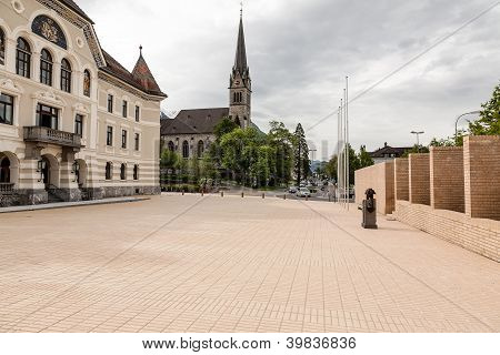Government Building And St. Florian Cathedral