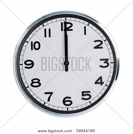 Wall Clock Show The Twelve O'clock