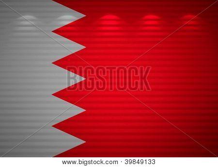 Bahraini Flag Wall, Abstract Background