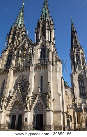 Saint Wenceslas Cathedral (olomouc, Czech Republic)