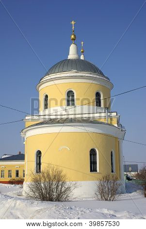 Orthodox Church In The Kremlin Of Kolomna