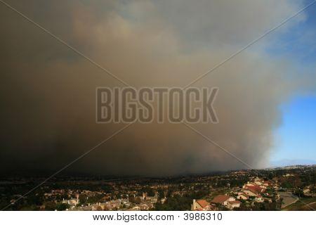 Fire In Yorba Linda