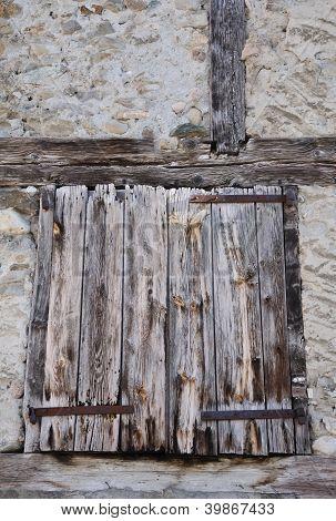 Old Wooden Shutter