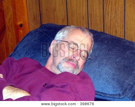 Man Napping