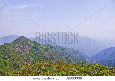 viewing the nailing ridge at china