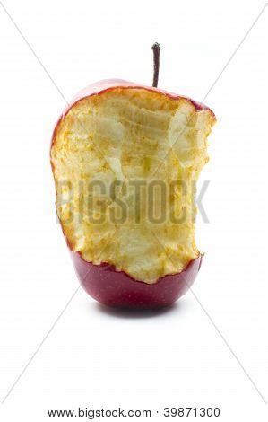 Rotten Bitted Apple