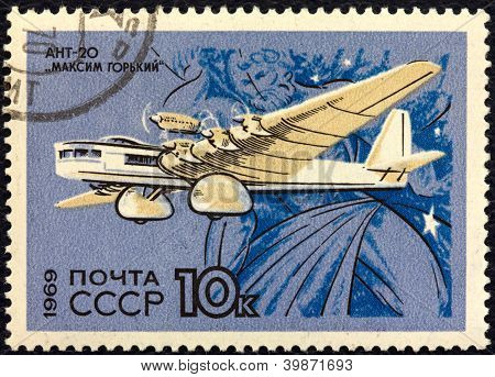Airplane Tupolev Ant-20