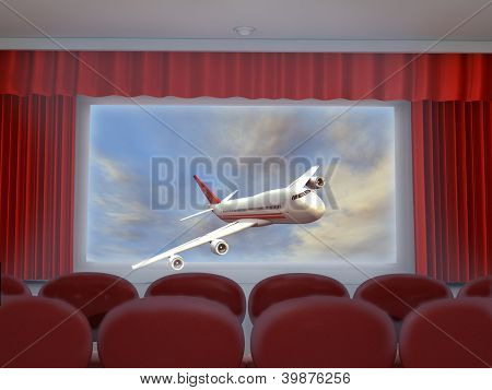 3D cinema projection