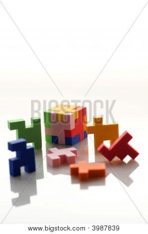 Colorful Rubber Blocks